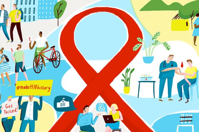 """Saznaj svoj status"" -svetski dan borbe protiv HIVa"